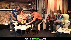 Biggest tits lady gets...