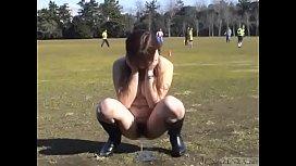 Subtitled Japanese public nudity...