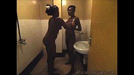 Horny lesbians having fun...