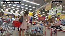 Young girl choosing panties...