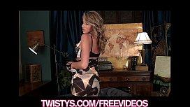 Stunning curvy blonde Danielle...