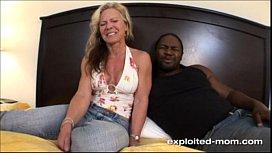 Blonde Milf gets her...