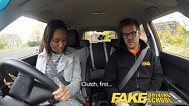 Fake Driving School creampie...