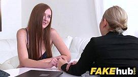Female Agent Hot redhead...