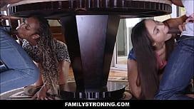 Black Family Orgy Fuck Fest