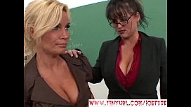 Blonde and Brunette Teacher...