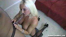 Blonde Pornstar Ashlee Chambers...