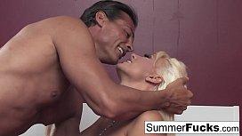 Summer Brielle gets a...