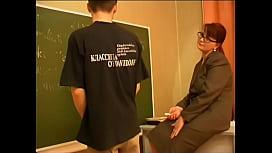 Russian teacher and boy...