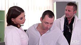 Stunning Nurse Anna Polina...