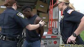 Whore big boobs policewoman...