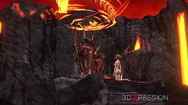 3dxpassion.com. Devil fucks...