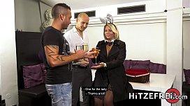 HITZEFREI Thick German blonde...