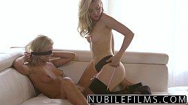 Lesbians scissoring brings intense multiple orgasms