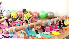 Fitness Rooms Big tits...