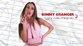 Squirting lesbian triangle - Kimmy...