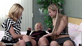 Daisy Debs lesbian threesome...