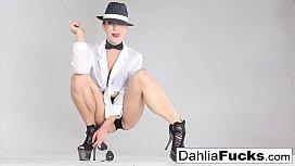 Dahlia Sky hot masturbation...