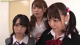 Asian Schoolgirls Seduce Classmate...