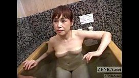 Pale Japanese wife secret...