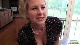 Oral-Amber Polka Dots...