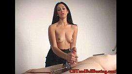 Mistress tortures Cock...