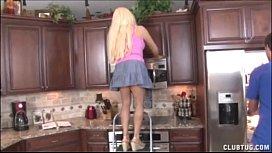 Blonde Milf Jerking In The Kitchen c00kied00h