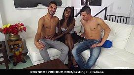 CASTING ALLA ITALIANA - Interracial...