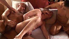 Mature bareback orgy...