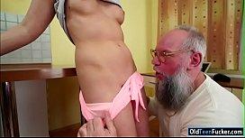 Russian Liza Shay licked...