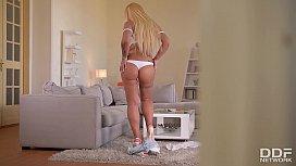 Busty Blonde Kyra Hot...