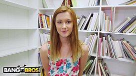 BANGBROS - Adorable Redhead Teen Alaina Dawson Wants To Learn Tantric Sex (POV)