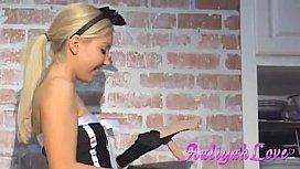 Aaliyah Love French Maid...