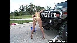 HotWifeRio Bikini Carwash...