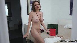 Midget milf Krissy Lynn in The Sinful Stepmother
