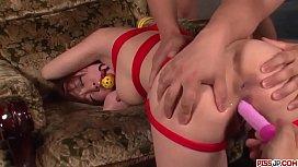 Rough bondage encounter for hot Japanese porn star - More at Pissjp.com