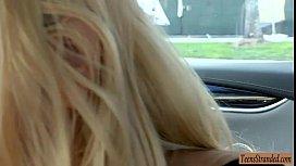 Cutie Blonde Teen Babe...