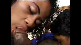 Black Latina and Threesome...
