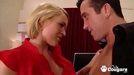 MILF Krissy Lynn Gets Banged At The Office