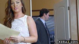 Big ass office bitch gets anal drilled by her boss sensualsuzette