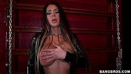 Latex Mistress with Big Tits