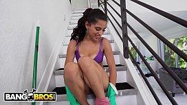 BANGBROS - Skinny Latin Maid...