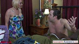 Busty blonde Krissy Lynn fucking adina rivers nude