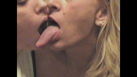 Pat and her long tongue