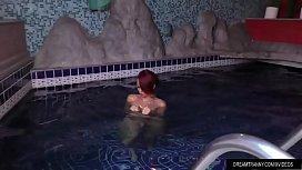 Redheaded Tgirl Nicolly Pantoja...