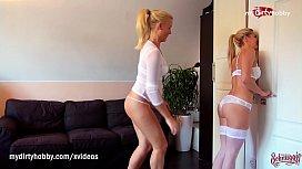 MyDirtyHobby - Horny blonde Milfs...