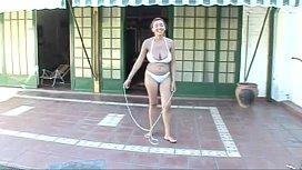 Paola Rios Rope Jumping...