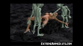 Aliens Bang a 3D...