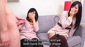 Subtitled CFNM Japanese friend...