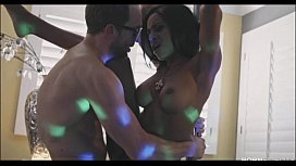 Ebony Stripper Anya Ivy...